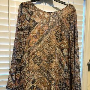 NWT Show Me Your MuMu dress sz large
